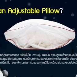 adjustable-pillow-หมอนที่มีดีมากกว่าการเปลี่ยนไส้